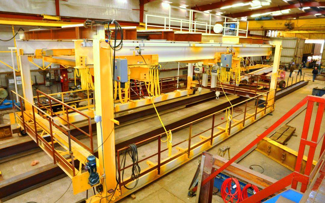 Gantry Cranes for the Huey P. Long Bridge Widening