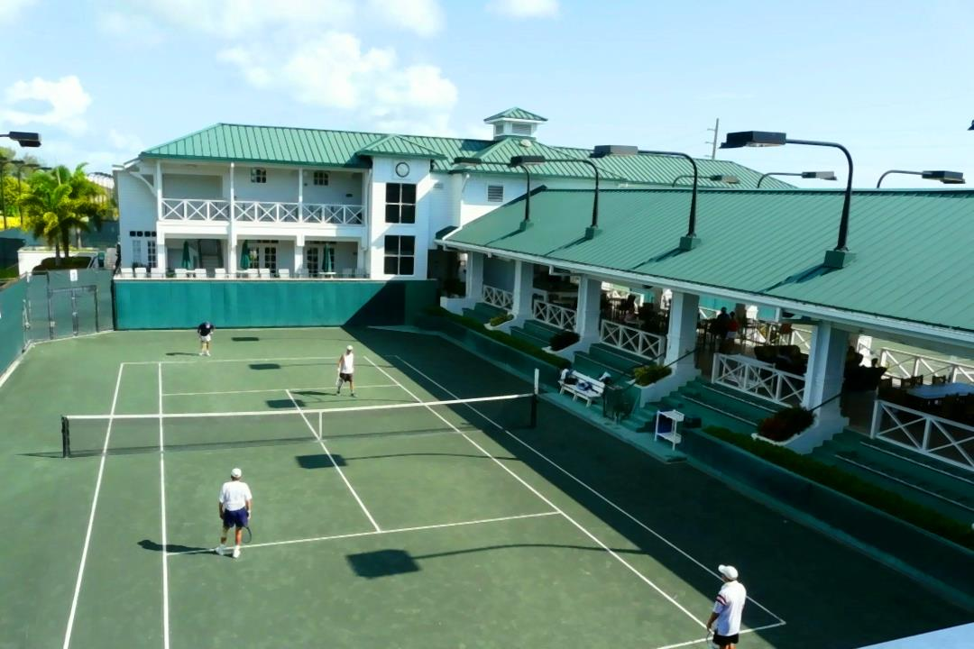 Kiwi Tennis Clubhouse